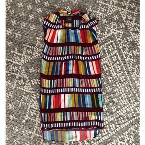 NWT Anthropologie Maeve Rainbow Dress